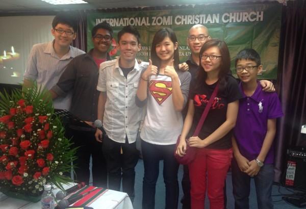 Visiting a Myanmar church in KL