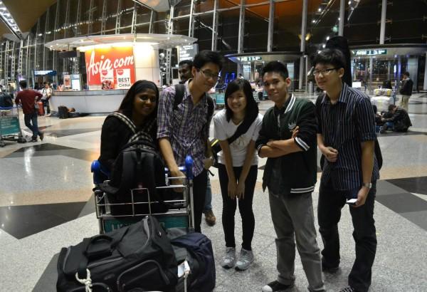 Photo before leaving KLIA